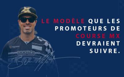 Le modèle que les promoteurs de course MX devraient suivre.
